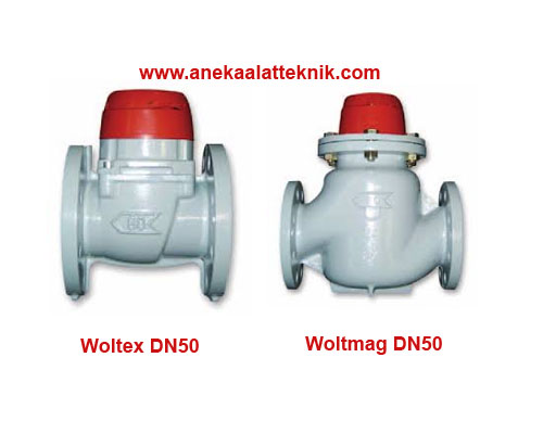 Jual Water meter ITRON Woltex DN50 dan Woltmag DN50