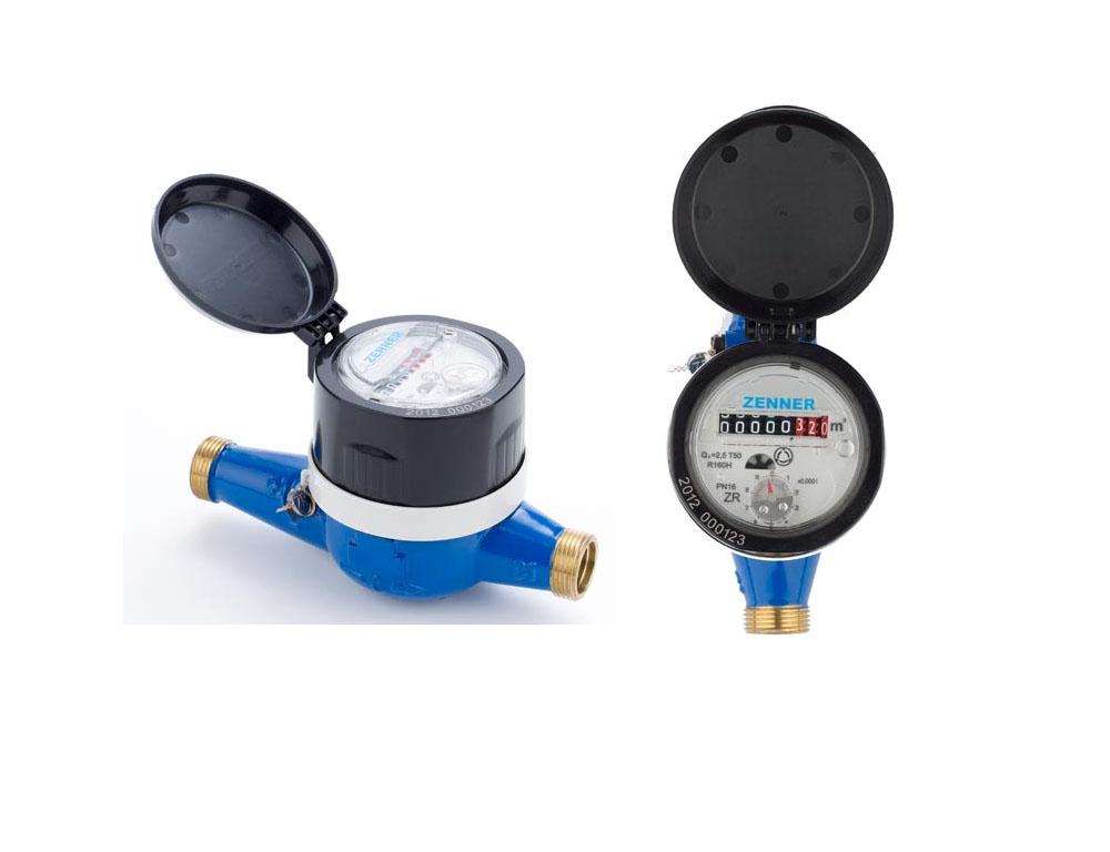 Jual Water Meter Zenner Drat dan Srew
