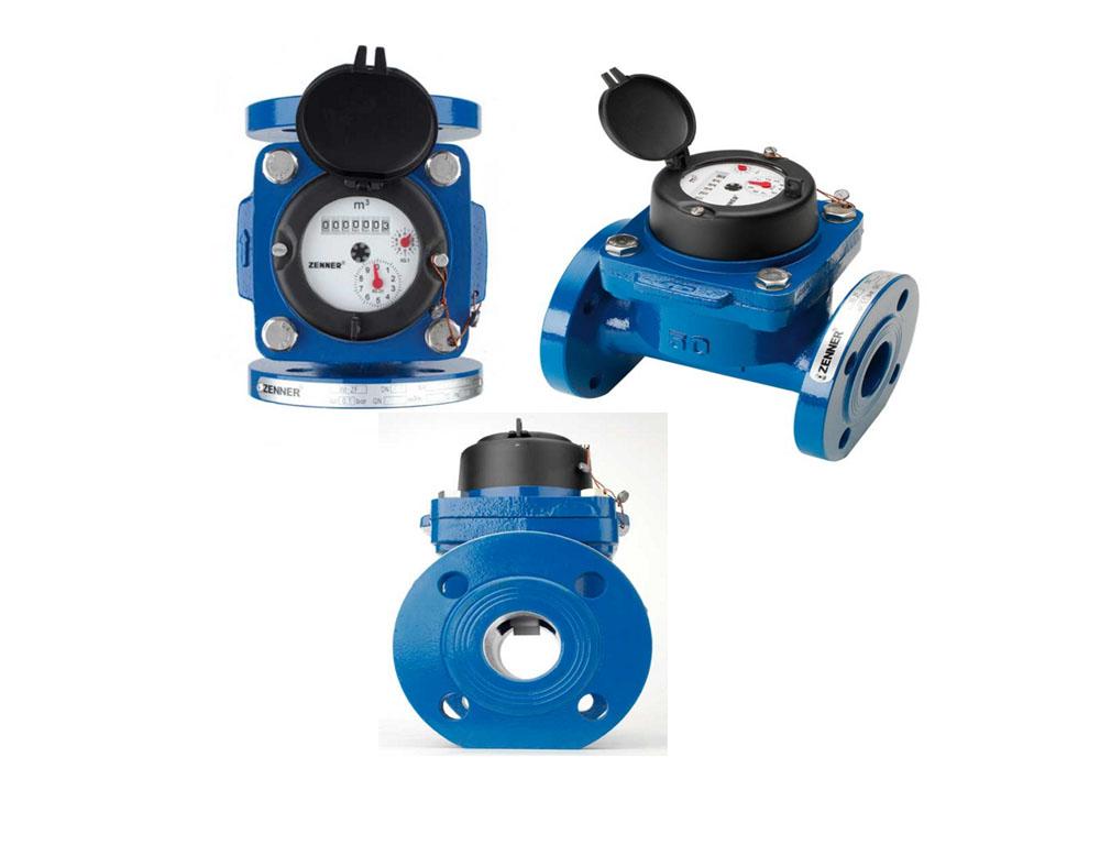 Jual water meter Zenner Type Flange DN 40mm-500mm