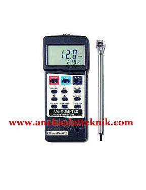 Jual Anemometer Lutron Tipe AM4216