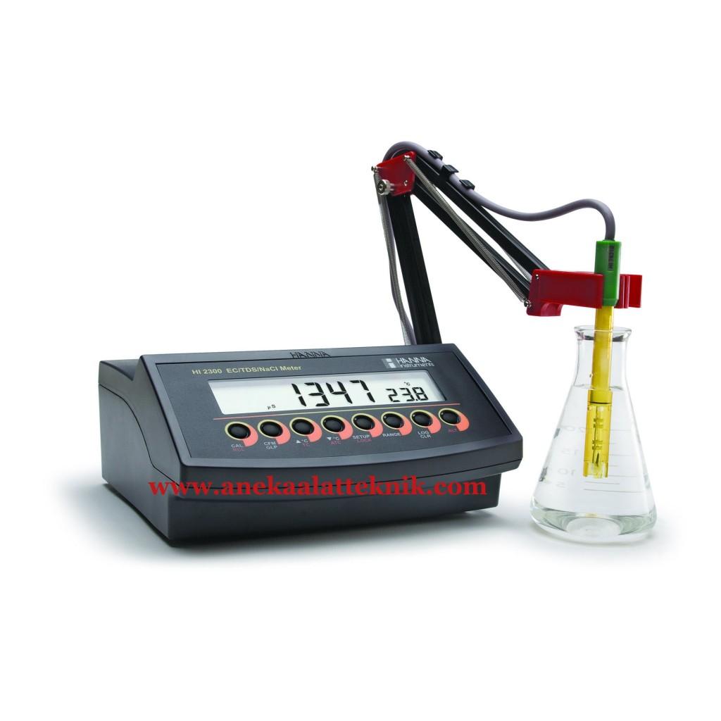 Autoranging EC , TDS , Salinity Benchtop Meter HANNA – HI 2300