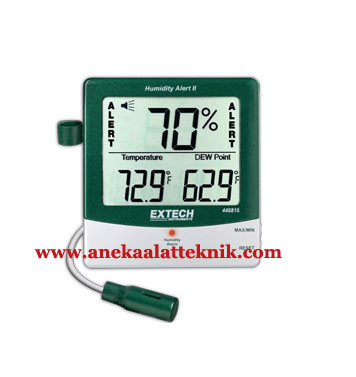 Jual EXTECH Hygro Thermometer Humidity 445815 Alert with Dew Point