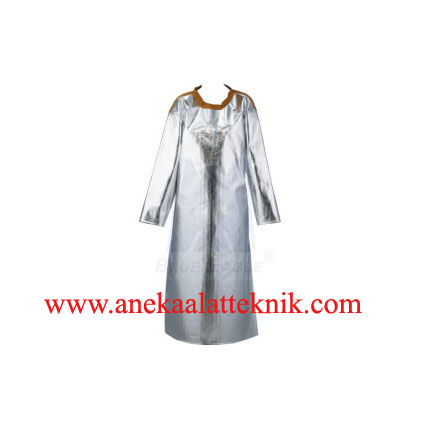 Aluminized Apron With Sleeves Blue Eagle AL6