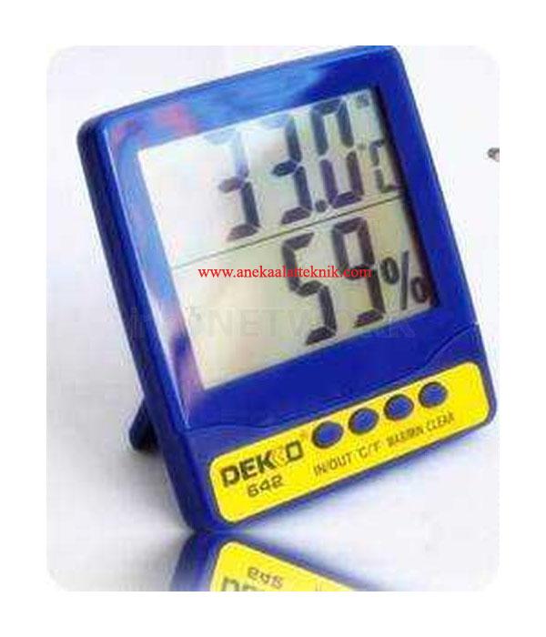 Jual DEKKO 642 Thermohygrometer