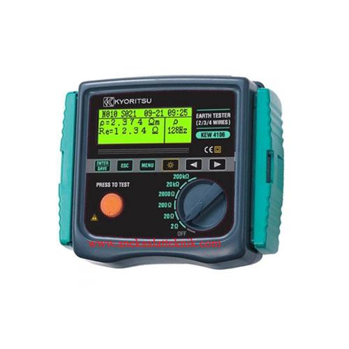 Jual Earth Resistance & Resistivity Tester Kyoritsu KEW 4106