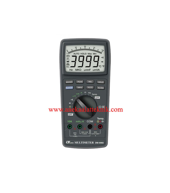 Jual Multimeter DMM LUTRON Tipe DM 9960