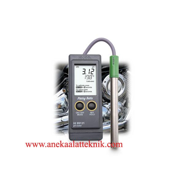 Jual Plating pH Portable Meter HANNA HI99131