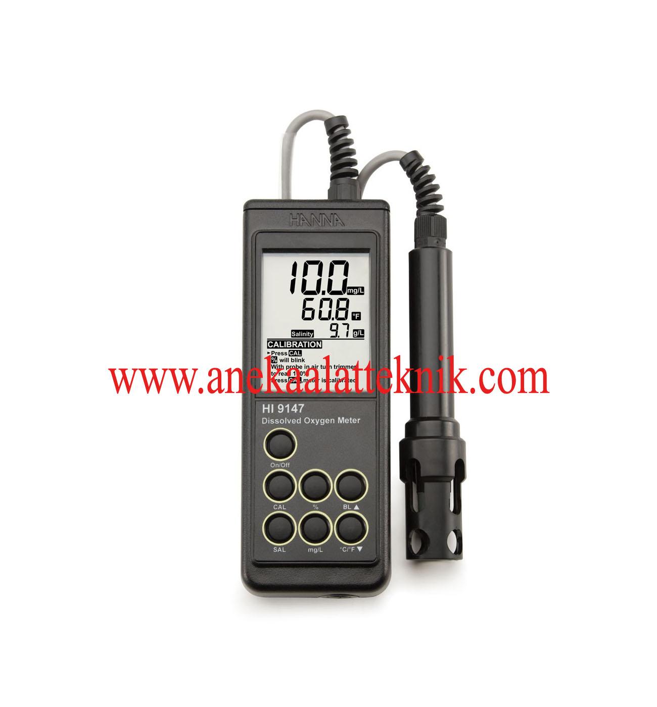 Jual Portable Galvanic Dissolved Oxygen Meter HANNA HI 9147