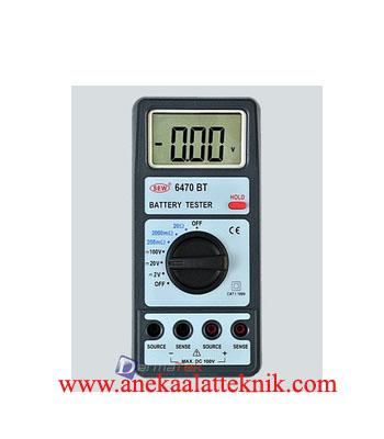 Jual SEW 6470 BT 0-100V 0-20 Ohm Battery Tester