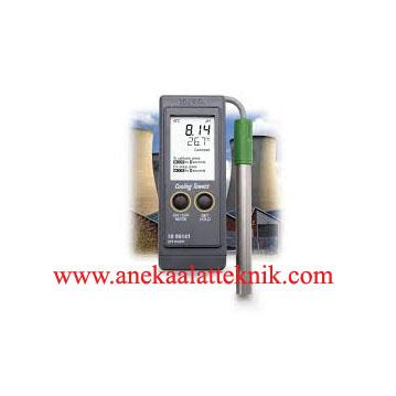Jual PH Portable Meter for Boiler and Cooling Tower HANNA HI99141