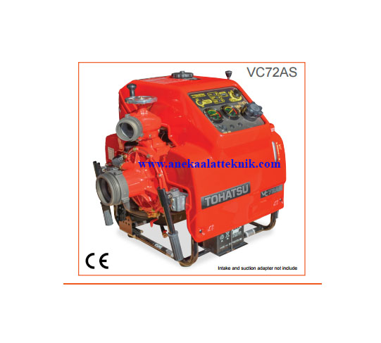 Jual Fire pump Tohatsu VC72AS