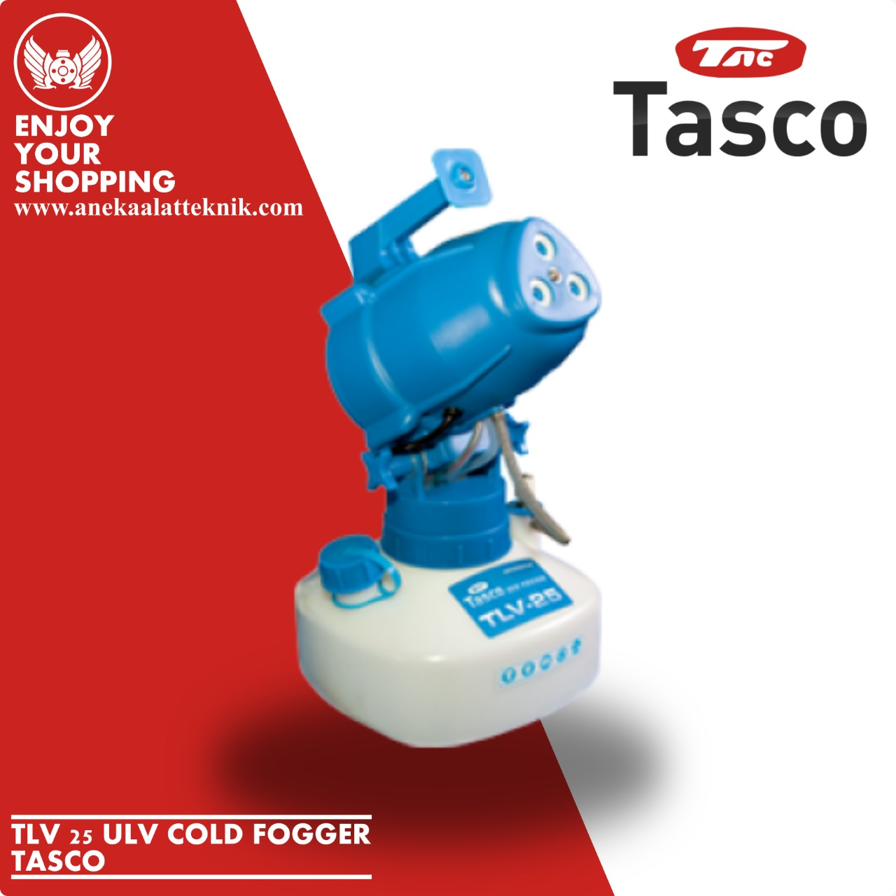 Jual Mesin Fogging Tasco TLV 25