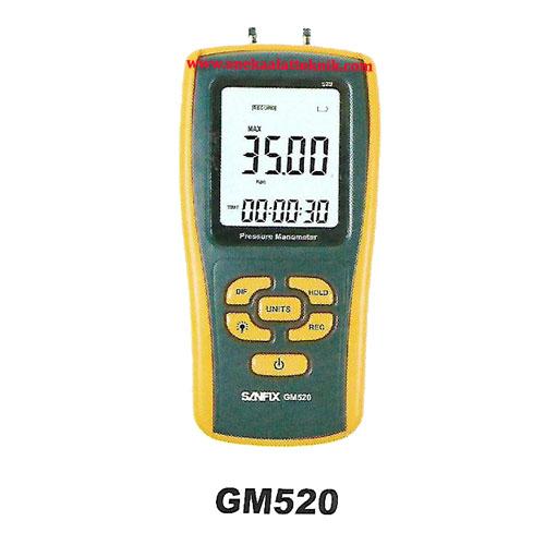 Jual Pressure Manometer Sanfix Gm520