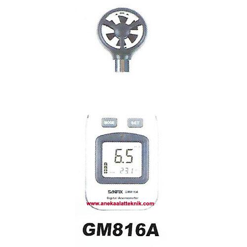 Jual Digital Anemometer Sanfix GM816A