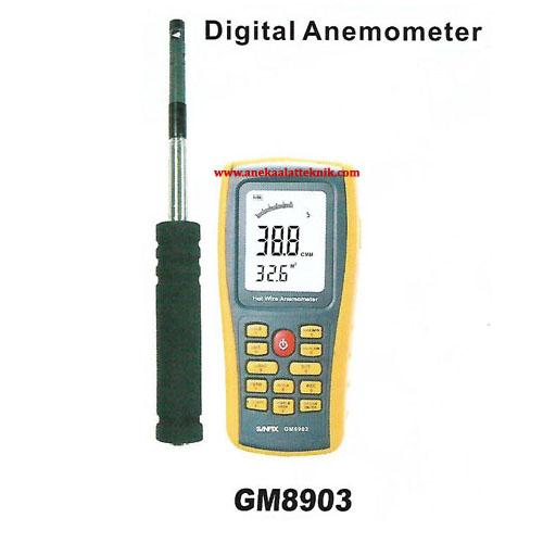 Jual Sanfix Digital Anemometer GM8903
