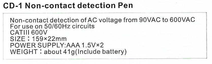 Spec-CD-1 jual contact detection pen sanfix
