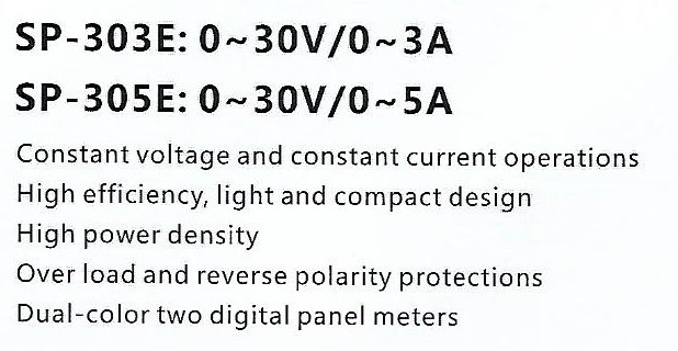 Spec-SP303E-SP305E Harga Power Supply Sanfix