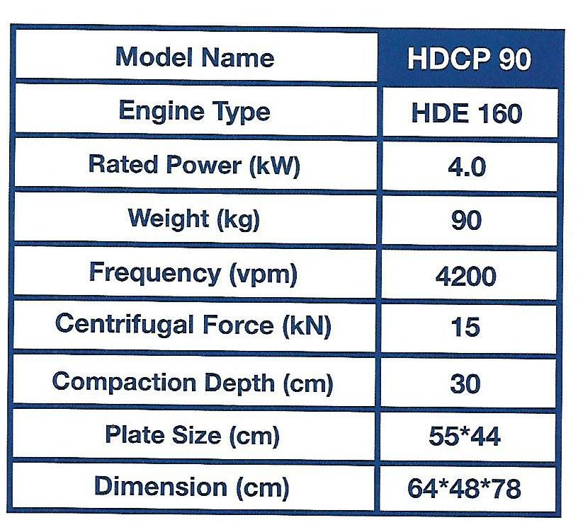 Spec-Plate-Compactor Jual Plate Compactor Hyundai