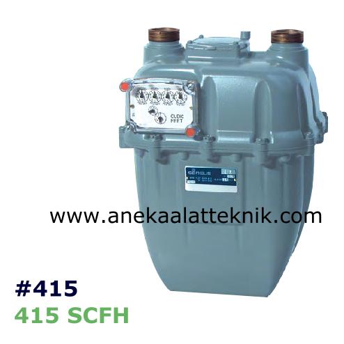 Flow meter gas sensus
