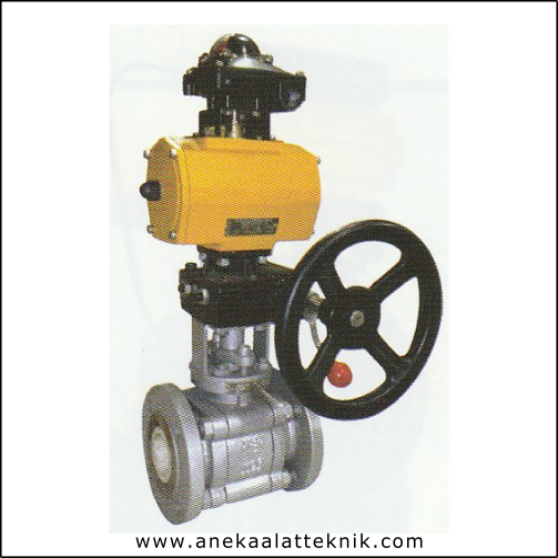 PNEUMATIC-MANUAL CERAMIC BALL VALVE ARITA