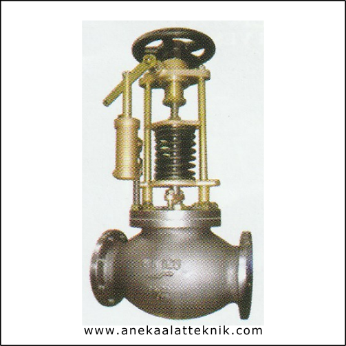 MARINE FUEL OIL SHUT-OFF VALVEC/W PNEUMATIC ACTUATOR