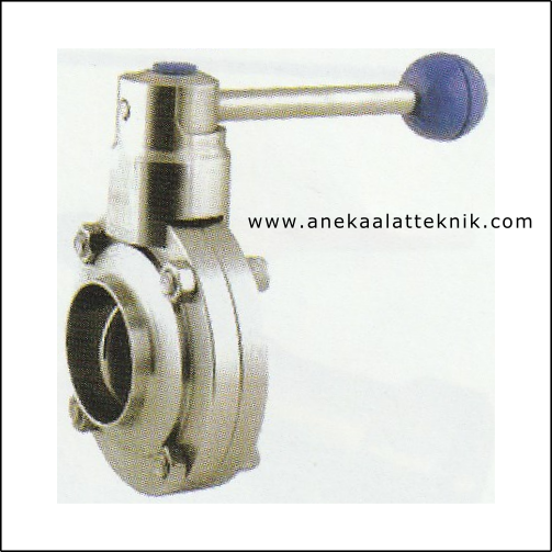 Sanitary Valve Butterfly Sanitary Welded & Clam
