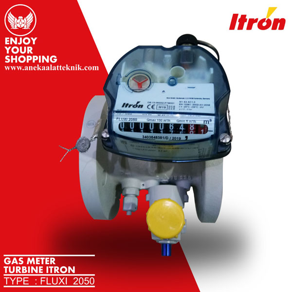 turbine gas meter itron