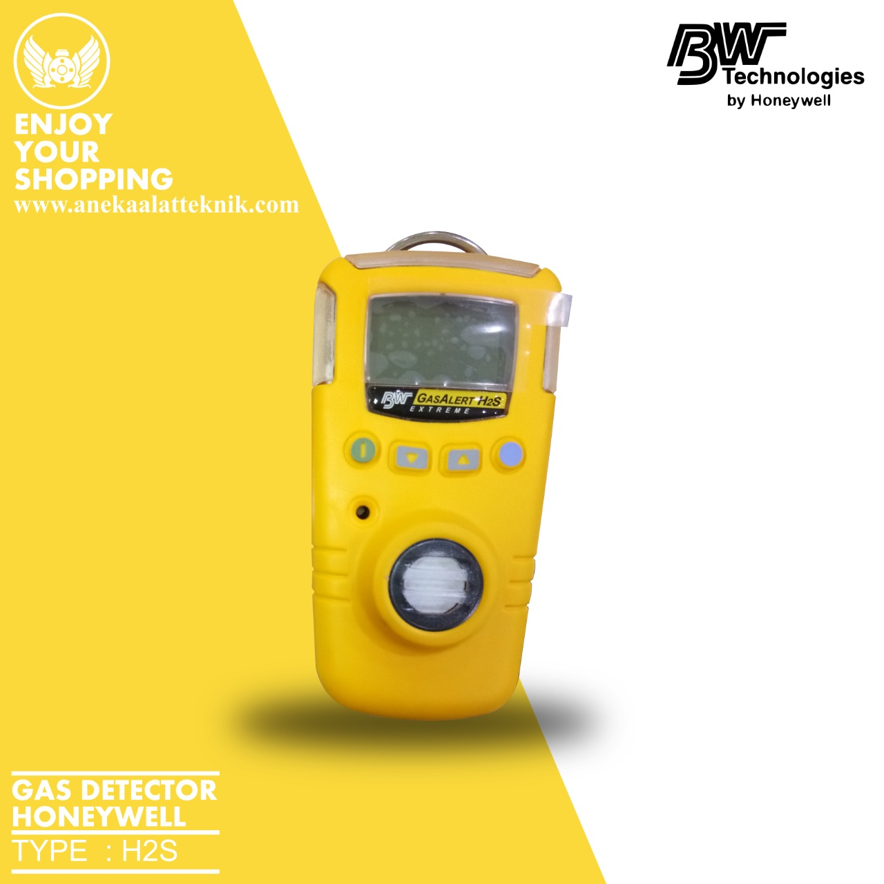 gas detector bw honeywell
