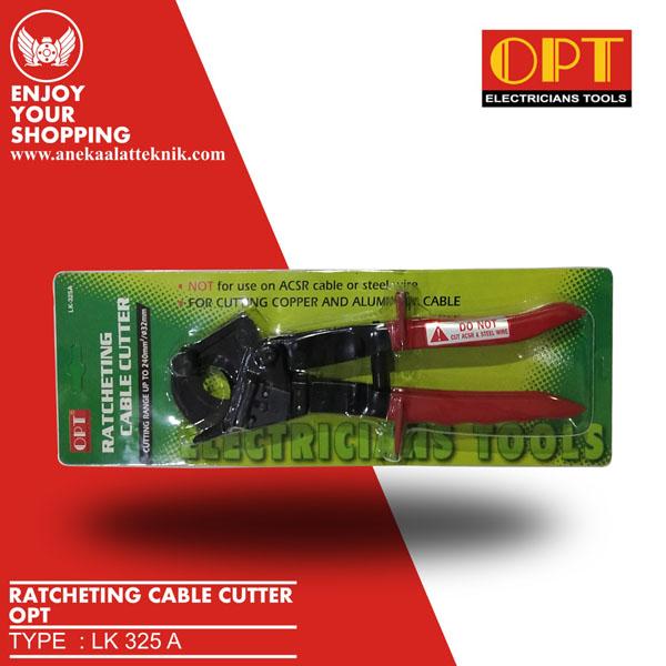 LK325A TANG POTONG PEMOTONG RATCHETING CABLE KABEL CUTTER 32mm OPT