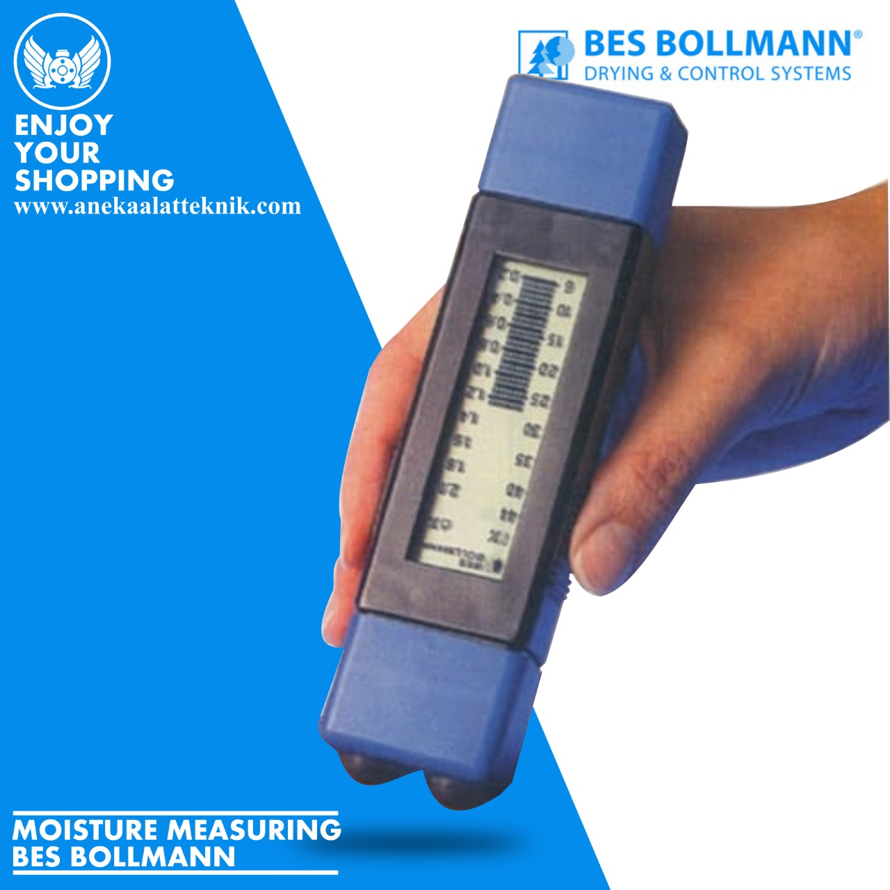 BES BOLLMANN Moisture Meter Wood Easy-Contact