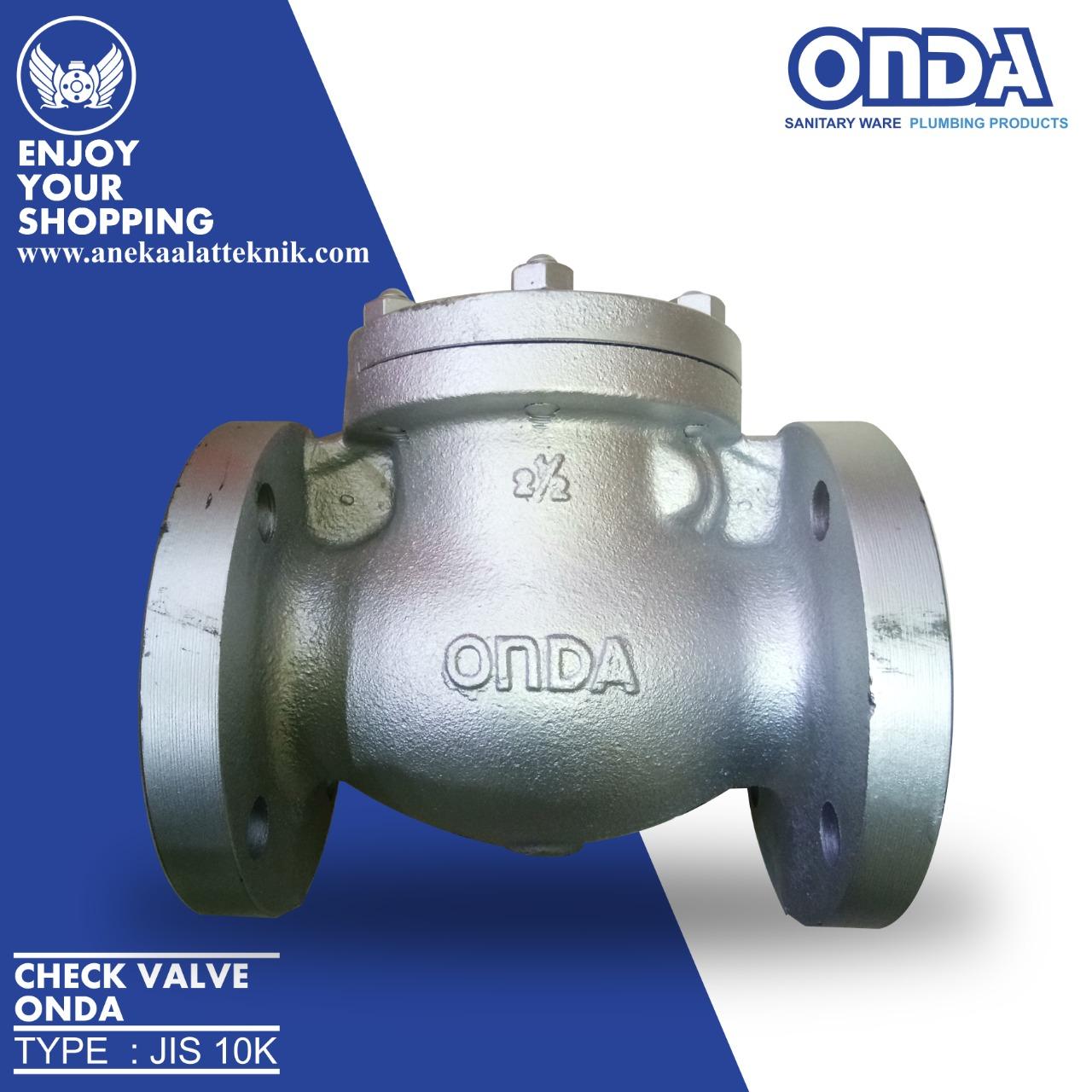 Check valve onda