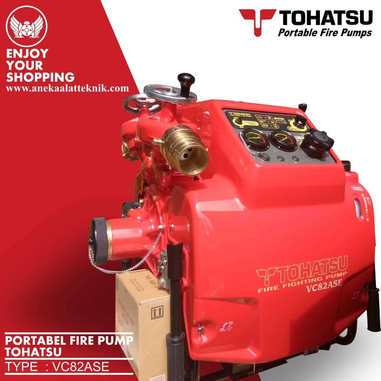 Tohatsu Portable Fire Pump Model Vc82ase (2)