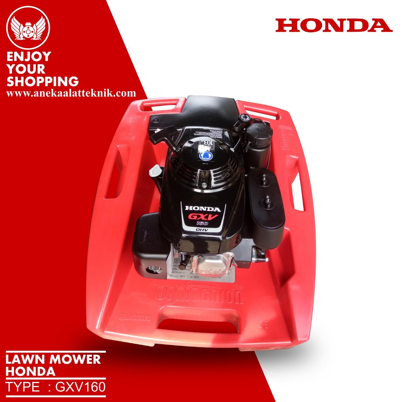 lawn mower honda gxv160