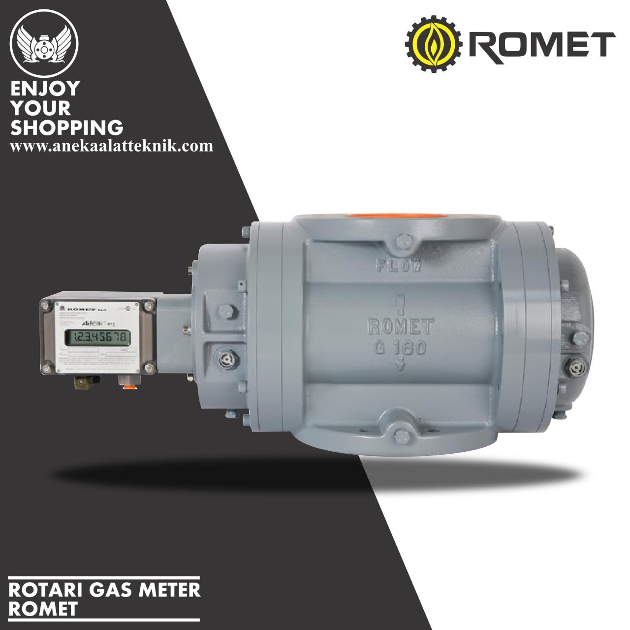 ROTARI GAS METER ROMET