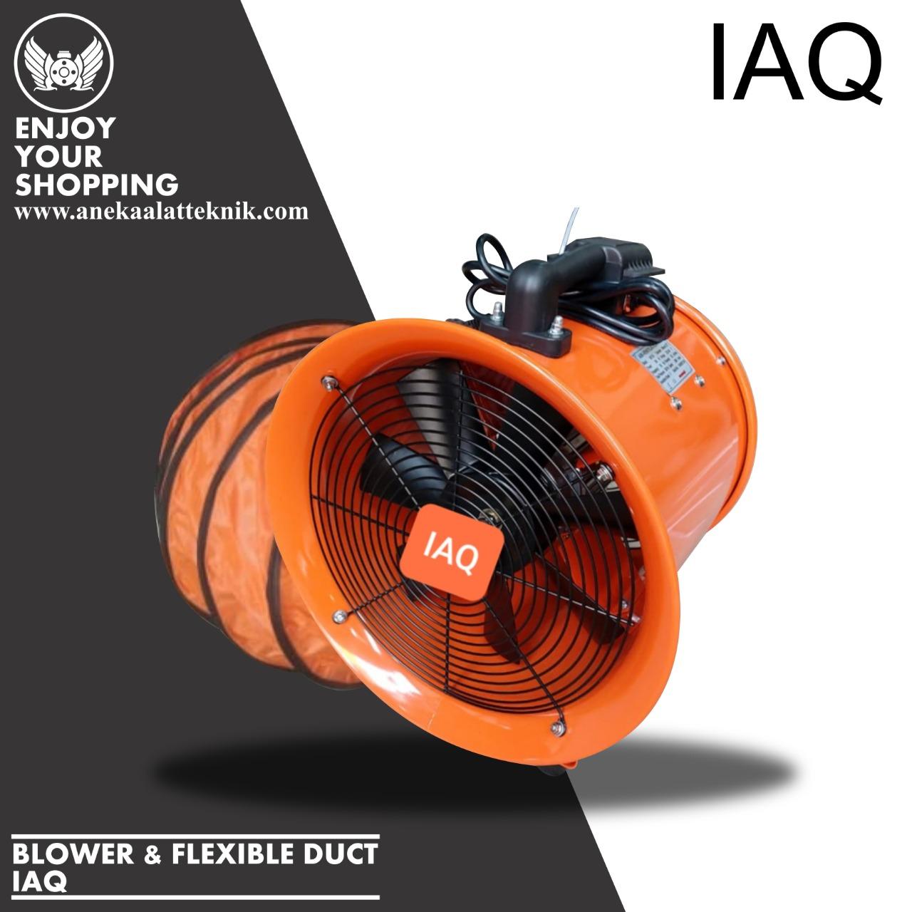 BLOWER & FLEXIBLE DUCT IAQ