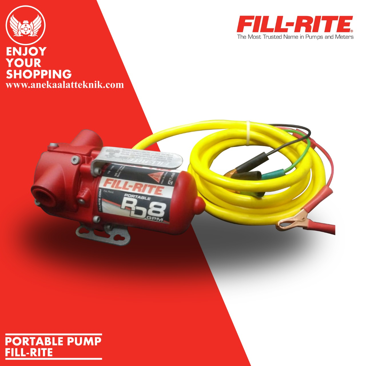 PORTABLE PUMP FILL-RITE