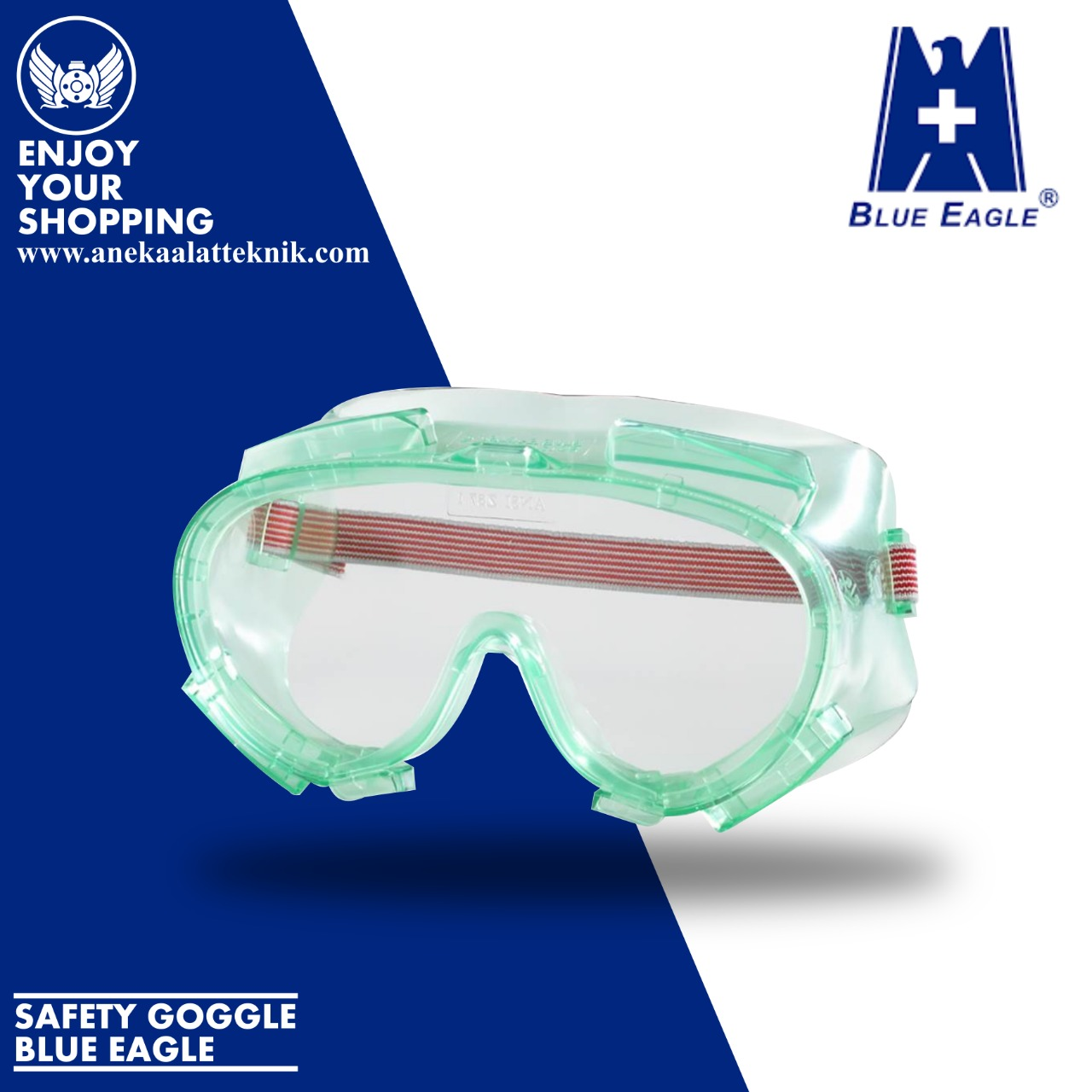 SAFETY GOGGLE BLUE EAGLE