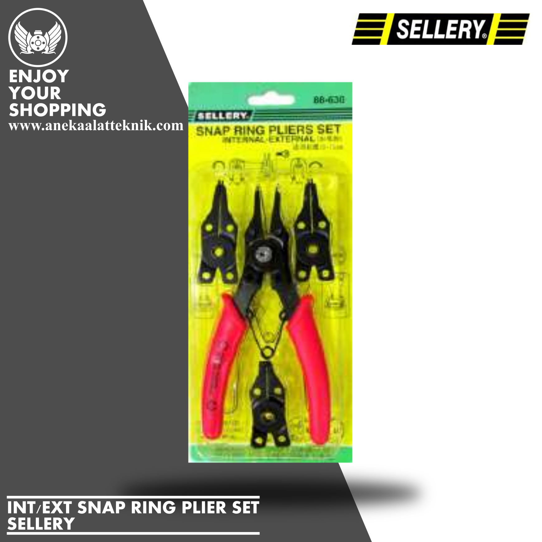 INTEXT SNAP RINGPLIER SET 88-630
