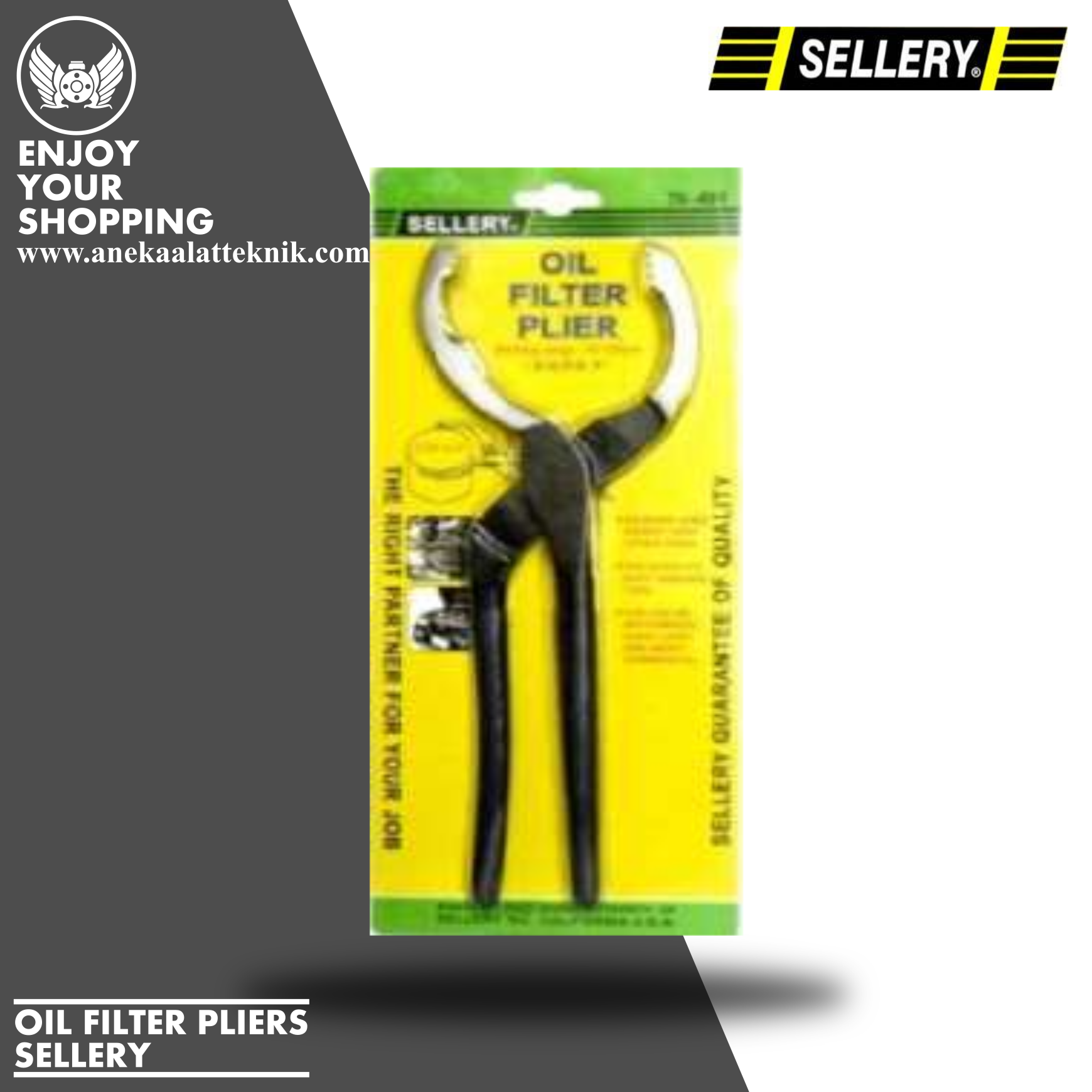 OIL FILTER PLIERS 78-401