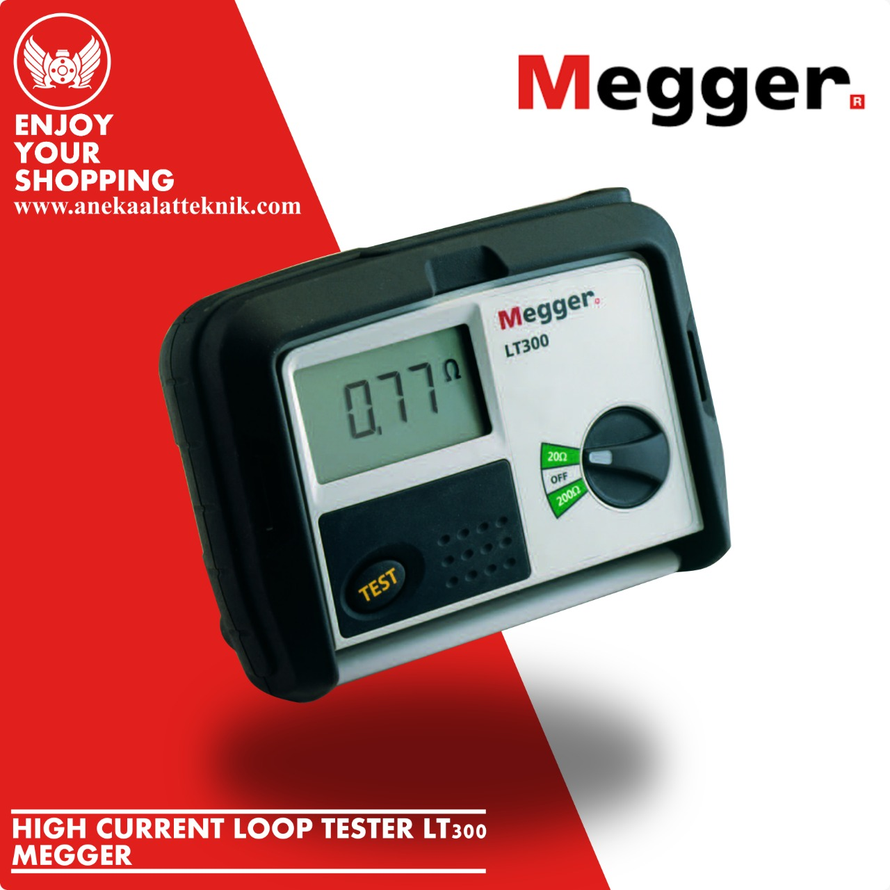 High current loop testers Megger LT 300