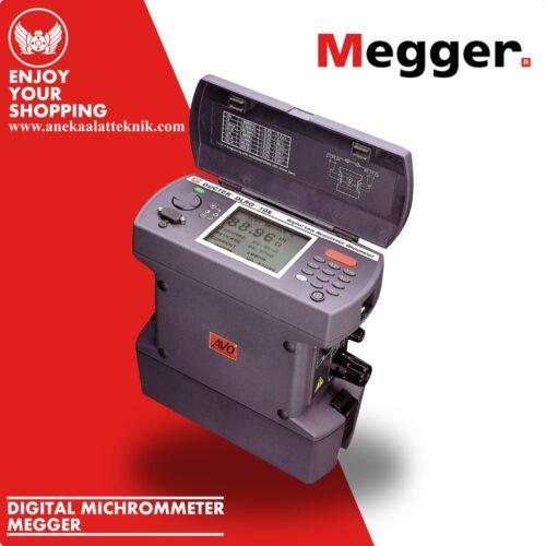 Digital Microhmmeter Megger DLRO 10 and DLRO 10X