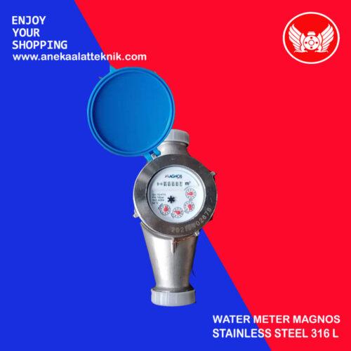 Water meter stainless steel 316L