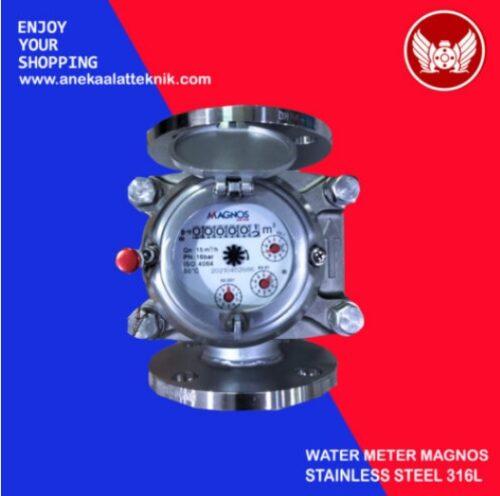 Jual stainless steel water meter 316L