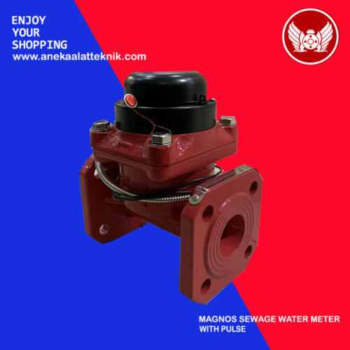 Water meter air limbah with pulse