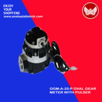 OGM-A-25-P OVAL GEAR METER WITH PULSER